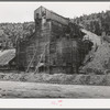 Abandoned gold mill. Idaho Springs, Colorado