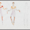 Asia: sketches and notes for costume designs