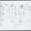 The Bay at Nice: costume sketch for Sofia, Peter, and Corey Brill