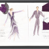 Besame: costume sketches for Jennifer DePalo and Pedro Ruiz