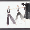 Besame: color photocopies of costume sketches