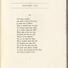 Easter 1916. Holograph poem