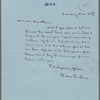 Letter from Willa Cather of Feb. 20, 1921