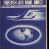 The Official foreign air mail guide, October