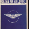 The Official foreign air mail guide, August
