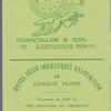 Collection of Abbey Theatre ephemera