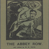 The Abbey Row. Not edited by W. B. Yeats, [Front cover]