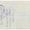Checks (2) by Lady Gregory and made out by her to George William Russell
