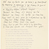 [Lectures]. Irish poetry. Holograph notes. Probably used for her lecture tour of U.S.A., 1915-16