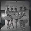 Patricia Wilde, Diana Adams, Maria Tallchief, Tanaquil Le Clercq, and Melissa Hayden in Caracole