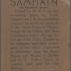 Samhain, no. 4
