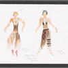 Paper Tiger: costume design for Patricia Tuthill and Katya Worth