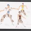 Paper Tiger: costume design for Jassen Virolas, Holmes Giraldo, and Rachel Alvarado
