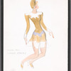 Sophisticated Ladies: costume sketch for Cotton Tail (Claudia Ashbury), 29
