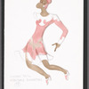 Sophisticated Ladies: costume sketch for Cotton Tail (Mercedes Ellington), 28