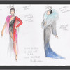 "Victor Victoria: costume sketch for Julie Andrews, ""Le Jazz Hot"", SK #4"