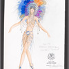 The Will Rogers Follies: costume sketch for Indian Princess (Colleen Dunn), SK 58