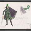 Chaplin: costume sketch for William Jack Ritschel, SK #20