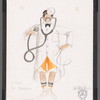Chaplin: costume sketch for doctor (Ric Stoneback), SK 21A