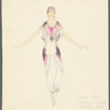 Brahms Quintet: costume design for Mimi Paul, Cynthia Gregory, Karena Brock, and Alex Radius