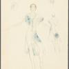 Brahms Quintet: costume design for Sorkin and Tcherkassky (3rd couple)