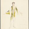 Brahms Quintet: costume design for Ian Horvath, Van Ebbelaar, and Terry Orr