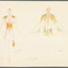 Brahms Quintet: costume design for [Cynthia] Gregory and [Ivan] Nagy (1st couple)