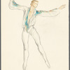 Brahms Quintet: draft sketches for costume designs