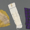 Busker Alley: costume sketches and fabric swatches for Arthur, SK #2 & SK #9