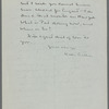 Willa Cather to Blanche Knopf, July 19, 1937