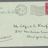 Willa Cather to Alfred Knopf, June 18, 1932: Western Union telegram