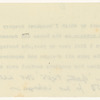 [Agreement]. Holograph and typewritten copy of p. 1 between Margaret Parry Gregory and Lady Gregory relating to the use of Coole