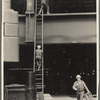 """Elaine's found dancers"": folder of study photographs collected for Illuminated Workingman"