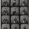 Contact sheets for Willa Kim's publicity shoot for Dance Magazine