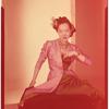 Publicity photographs of Willa Kim, in formalwear