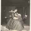 Mary Morris and Charles Ellis in the stage production Desire Under the Elms