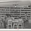 In the library of the FSA (Farm Security Administration) farm families community. Yuma, Arizona