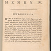 The first part of Henry IV