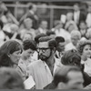 Shakespeare in the Park, actors Colleen Dewhurst and J. D. Cannon in the audience