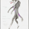 Peter and the Wolf: costume design for the Wolf, SK #6