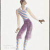 Sophisticated Ladies: costume design for Greg Barge in Rent Party, #5