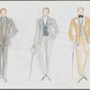 Victor Victoria: costume design for Julie Andrews as Victor, SK #3