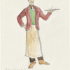 Victor Victoria: costume design for Proprietor (Jean-Claude)