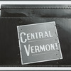 Central Vermont Railroad sign