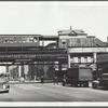 Myrtle Ave. Elevated at Vanderbilt Avenue, Brooklyn, NY