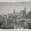 From the roof of Ex-Lax Inc. towards the Borough Hall section of Brooklyn, N.Y.