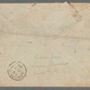 Leaf picked by George Gissing and sent to Morley Roberts from Lago Averno [Naples] [1888 Nov. 9]