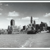 Manhattan from a Hudson River ferry