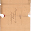 Livingston, Robert, Junr., addressed to Abraham Yates Junr. Esqr., High Sheriff of the City and County of Albany
