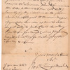 Livingston, Robert, Junr., addressed to Abraham Yets [Yates] Junr. Esqr. at Albany